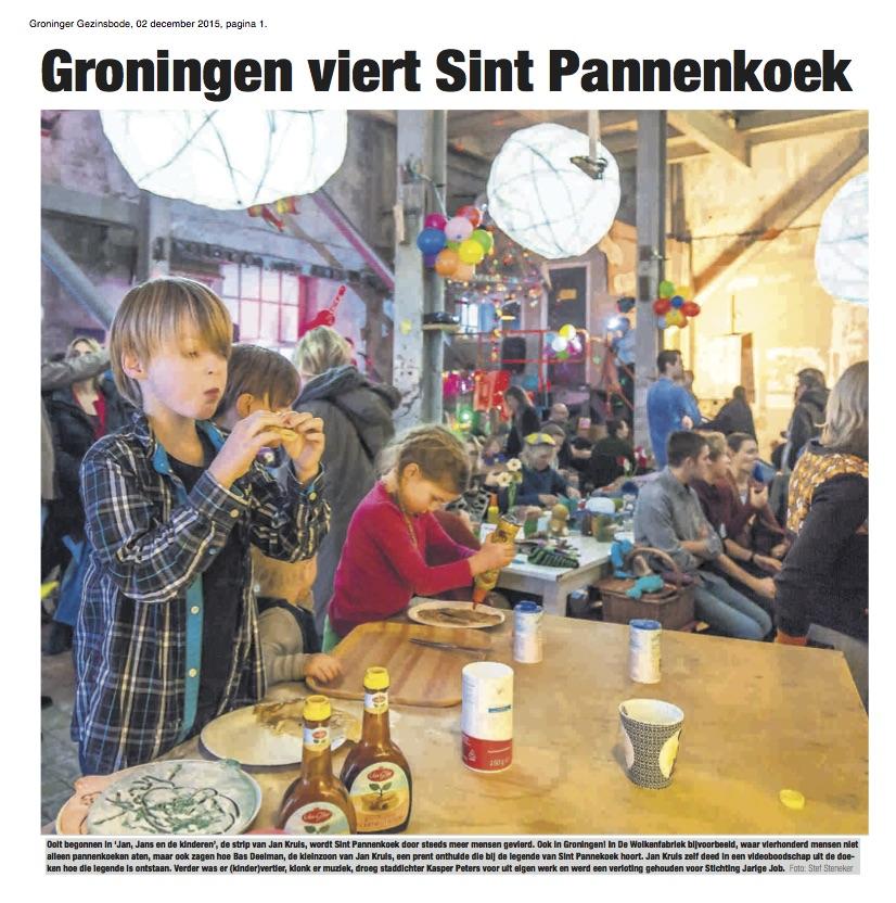 Sint Pannekoek op meer dan 17 locaties